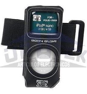 (2x) Protector Para Mp3 Mp4 iPod Nano Fellowes Body Glove