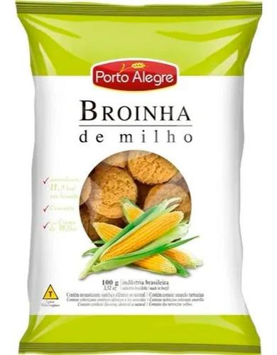 Biscoito Broinha De Milho Porto Alegre 100 Grs