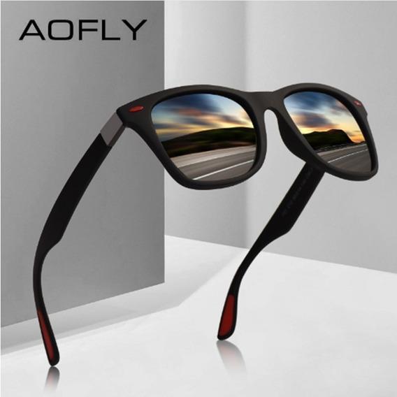 Óculos Sol Masculino Feminino Polarizado Aofly 8083 Promoção