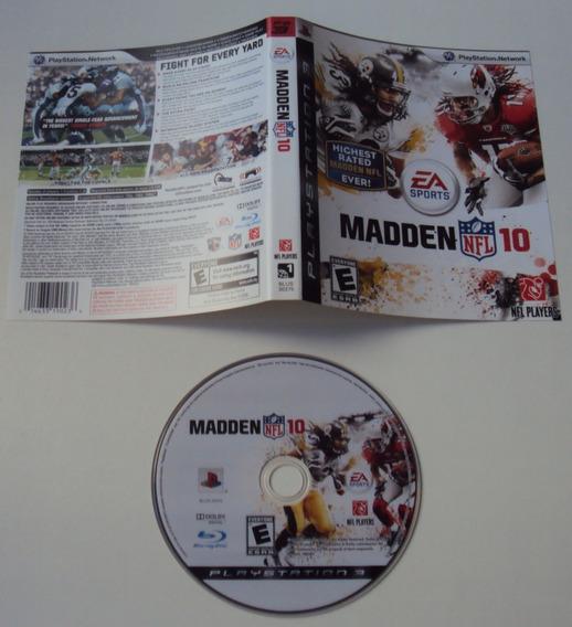 Madden 10 Original Para Playstation 3