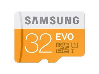 Cartão De Memória Samsung Evo 32gb Sdhc-i U1