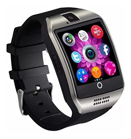 Relógio Digital Modelo Q18 Com Bluetooth Camera Calculadora