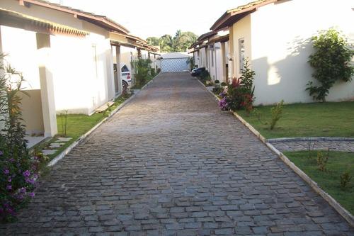 Imagem 1 de 14 de Casa 2/4 Com 1 Suíte Em Condomínio Fechado Vila De Abrantes