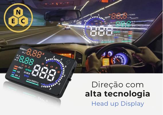 Hud Head Up Display Obd2 Universal Carro Velocímetro Digital