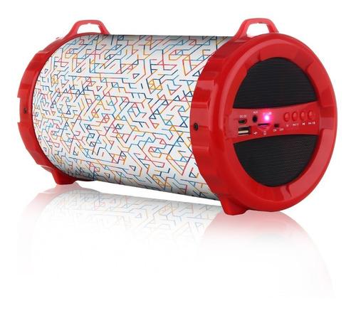 Parlante Portatil  Bluetooth Recargable Usb    Panacom