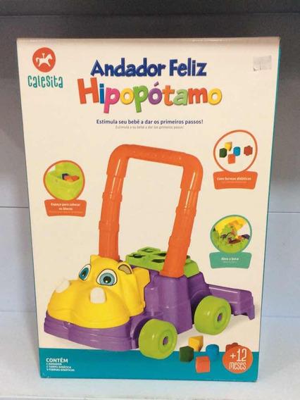 Andador Feliz Hipopótamo Calesita
