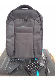 Mochila Kit Notebook 13-16 Laptop Backpack Mouse Y Teclado