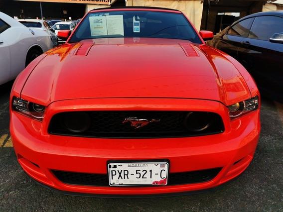 Ford Mustang 5.0l Gt Equipado Convertible Mt 2014