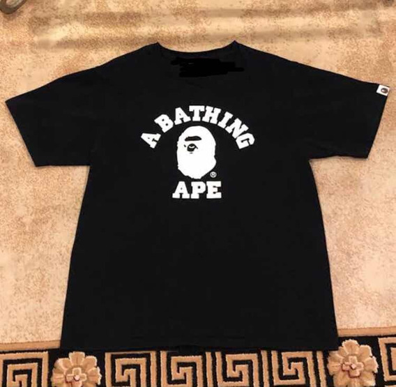 Playera Bape Logo Stussy Off White Gucci Kaws Paris