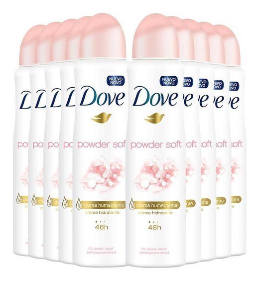 Antitranspirante Aerosol Dove Powder Soft Talco 150ml - 10un