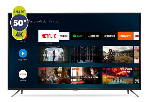 Smart Tv Led 50  Rca X50andtv 4k Ultra Hd Android A12