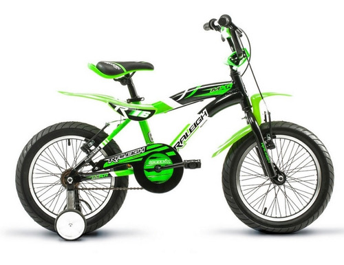 Bicicleta Para Chicos Raleigh Mxr Rodado 16 Aluminio Cross