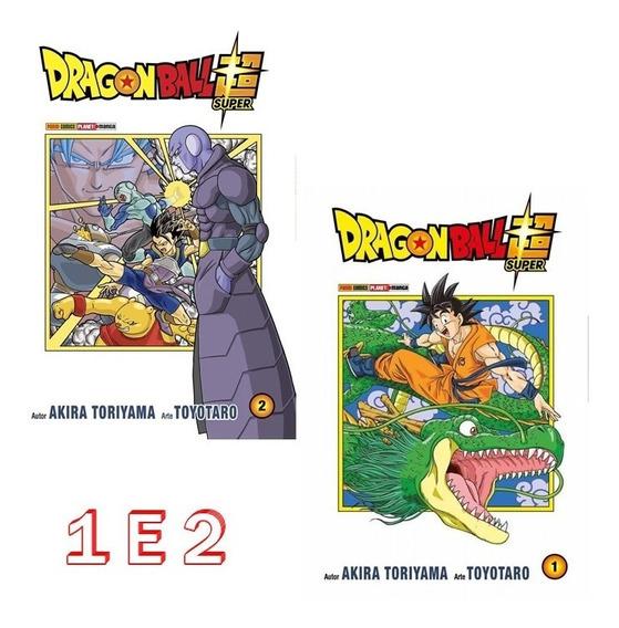Dragon Ball Super 1 E 2! Mangá Panini! Novo E Lacrado