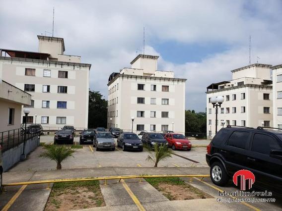 Apartamento Para Venda Em Mogi Das Cruzes, Caputera, 3 Dormitórios, 1 Banheiro, 1 Vaga - _2-1023649