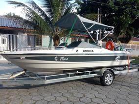 Barco Lancha Cobra Canguru 17 Pés 48 99817 5644