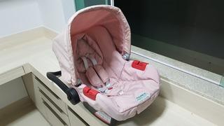 Bebê Conforto Touring Evolution Se Preto E Rosa - Burigotto