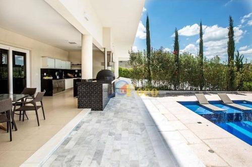 Imagem 1 de 24 de Casa Com 4 Dormitórios À Venda, 800 M² Por R$ 4.900.000,00 - Condominio Residencial Paradiso - Itatiba/sp - Ca0754