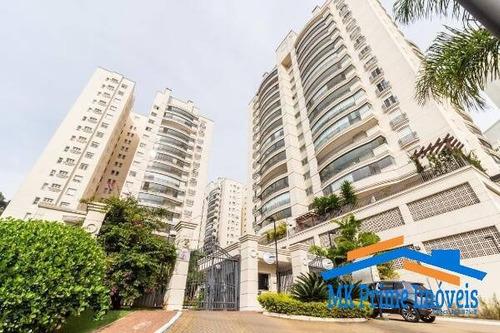 Apartamento Em Alphaville Tamboré, 201m2 , 3 Suítes, 4 Vagas - 1710