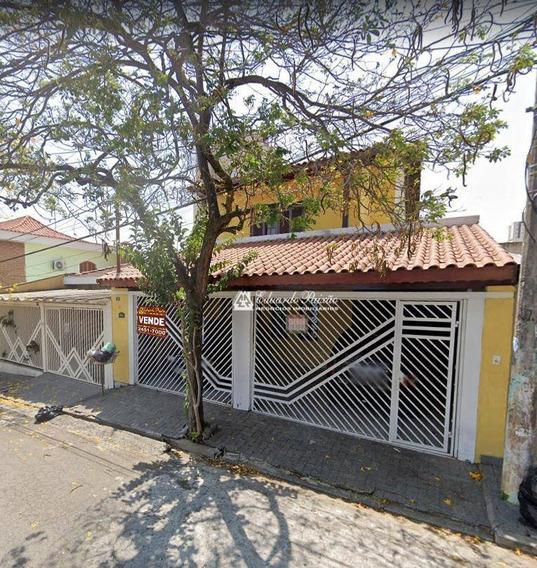 Sobrado Com 3 Dormitórios À Venda, 192 M² Por R$ 650.000,00 - Vila Rosália - Guarulhos/sp - So0101