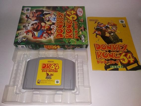 Jogo Donkey Kong 100% Original Completo Nintendo 64 N64