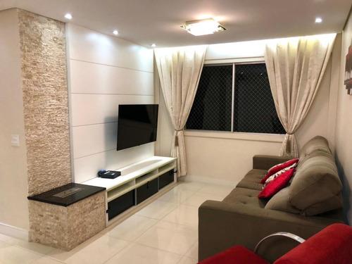 Imagem 1 de 15 de Apartamento Para Venda Com 3 Dorm. 67m2, Jardim Taquaral, São Paulo-sp. - 781