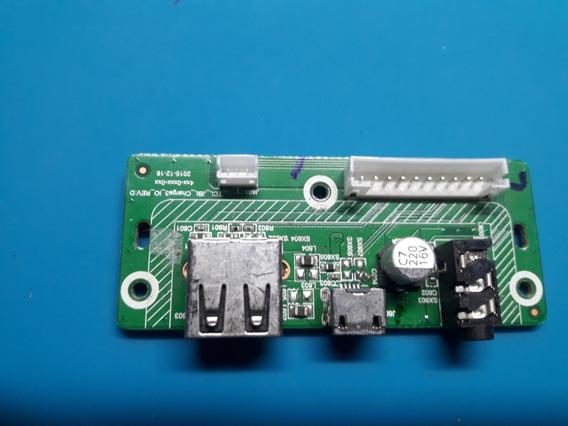 Placa Conector Usb Caixa Jbl Charge 3 Original
