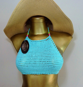 Top Tejido Crochet Varios Colores.
