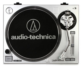 Toca Discos Audio Technica At-lp 120 Usb Agulha Tampa Novo