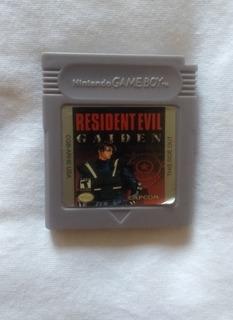 Resident Evil Gaiden Game Boy Color Re-pro