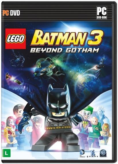 Jogo Lego Batman 3 - Beyond Gothan - Pc