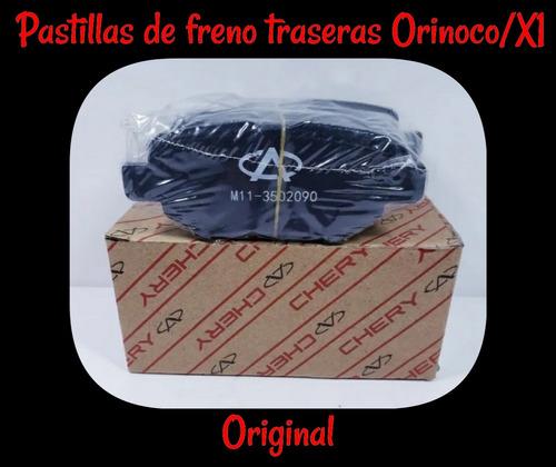 Imagen 1 de 1 de Pastillas De Frenos Traseras Chery Orinoco/x1