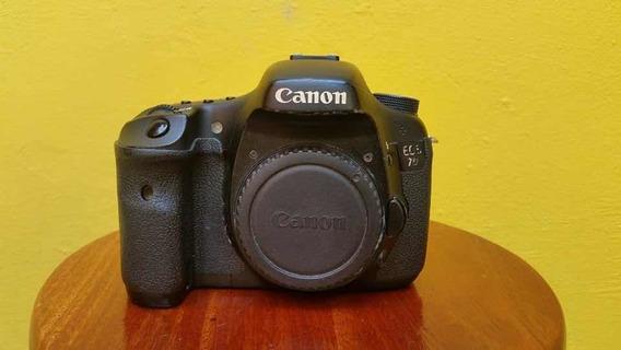 Canon 7d Com Lente E Acessórios