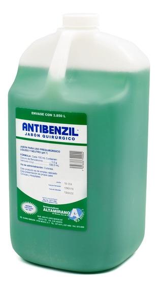 Jabón Quirúrgico Antibenzil Verde 1 Galón