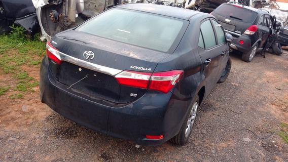 (7) Sucata Toyota Corolla 2016 Retirada De Peças
