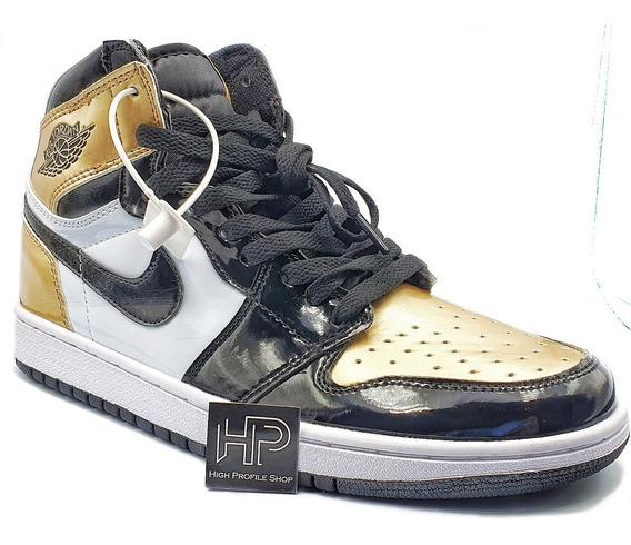 Nike Air Jordan 1 Retro Og Nrg Gold Toe