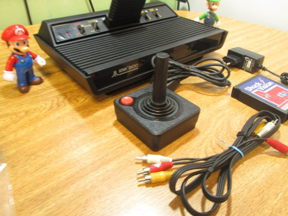 Atari Com Saída Av + Acessórios ( Só Ligar É Jogar )