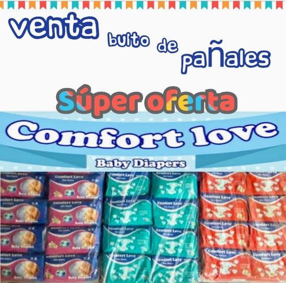 Pañales Desechables Para Niños Comfort Love Todas Las Tallas
