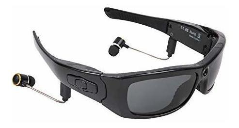 Gafas De Sol Bluetooth, Cámara Hd 1080p, Mini Cámara De Víd