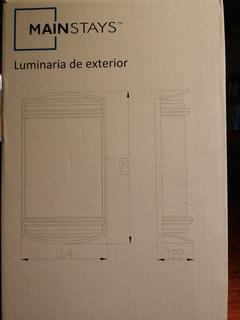 Tortuga Luminaria Exterior Int Blanco Aluminio Led 220v E27