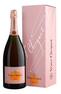 Champagne Veuve Cliquot Brut Rose En Estuche Importado
