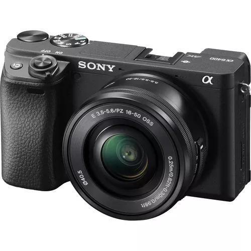 Câmera Sony Alpha A6400 C/ 16-50mm Ler Todo Anuncio C/ Nf-e