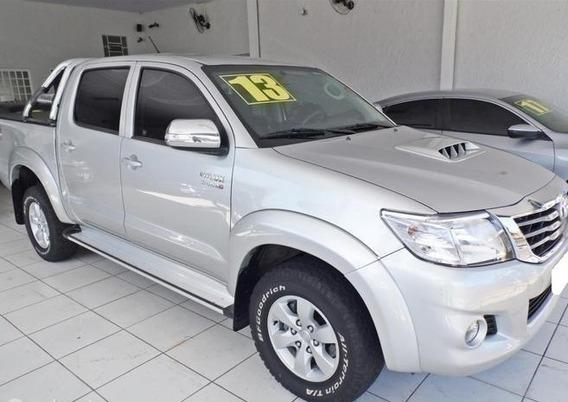 Toyota Hilux 3.0 Srv 4x4 Cd Prata 16v