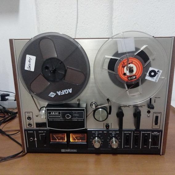Tape Gravador De Rolo Akai Mod4000 Db(dolby System)impecavel