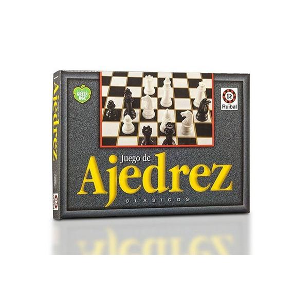 Juego De Mesa Ajedrez Green Box Clásicos Ruibal