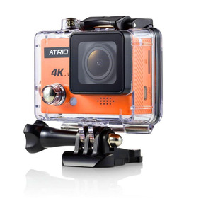 Câmera Atrio Fullsport Cam 4k Dc185 16mp C/ Controle Remoto