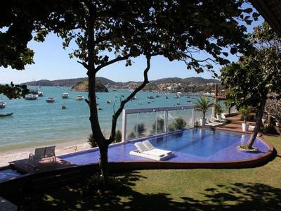 Aluguel Por Diária Para Temporada Em Armação Dos Búzios, Praia Do Canto, 8 Dormitórios, 8 Suítes, 9 Banheiros, 6 Vagas - At 025