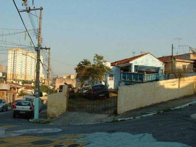 Terreno À Venda, 313 M² Por R$ 1.250.000 - Tatuapé - São Paulo/sp - Te0821