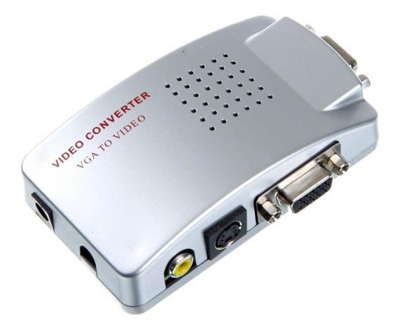 High Resolution Video - Conversor Vga To Av - Video/s-video