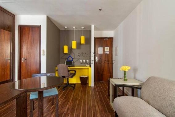 Flat Para Venda No Jardim Paulista, 1 Dormitório, 1 Vaga, 27 M² - Ap2173ati