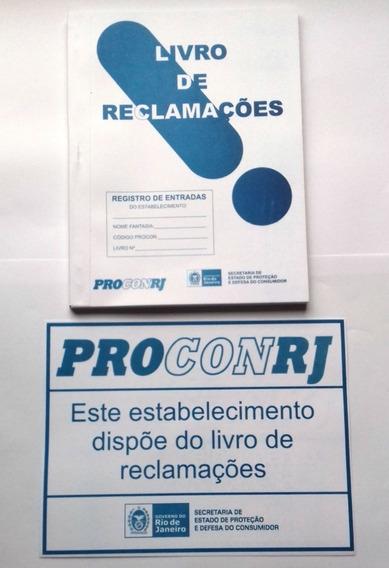 ( 3 ) Livros De Reclamações Do Procon Rj